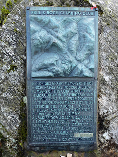 Great Gable Remembrance plaque