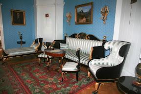 Unutrašnjost Ljermotove kuće