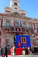 Puerta del Sol preparada para el dos de mayo