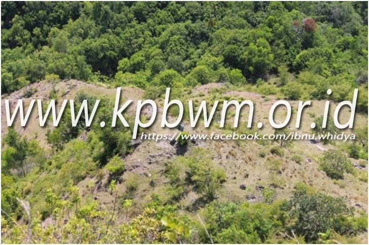 tanah landai depan benteng adolang pamboang