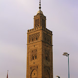 The Beautiful Architecture of Minarets - Casablanca, Morocco