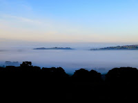 Early Morning Mist Looking From The Roaches To Tittersworth Reservoir