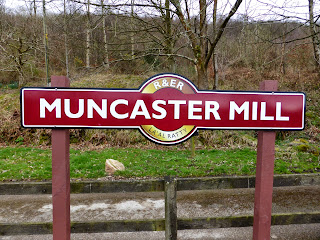Muncaster Mill Station sign