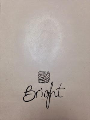 97 Hearts lightbulb bright drawing
