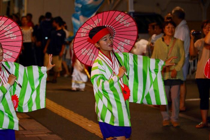 第59回よさこい祭り☆本祭2日目・上町競演場77☆上2目0377