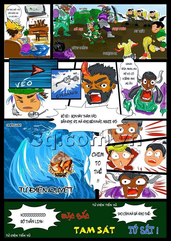 Comic Củ Hành: Tử Điện Tiễn Vũ của Mã Đại - Ảnh 2