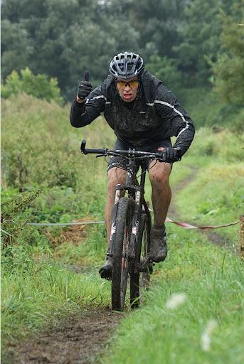 mountainbike tijdens West-Vlaanderens Mooiste