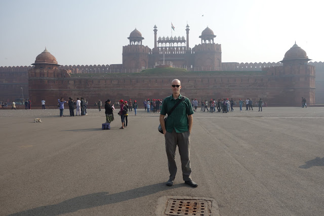 Old Delhi's Red Fort.