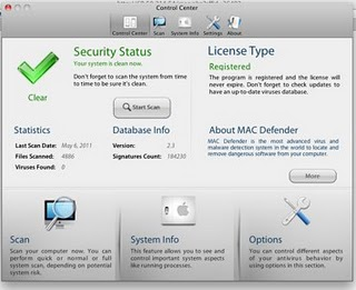 Screenshot Macdefender