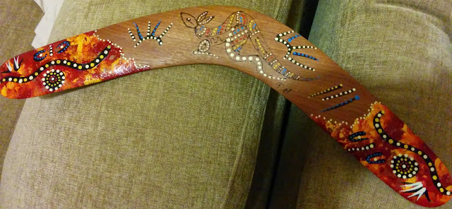 Hand Made Australian Boomerang