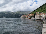 The Perast coastline