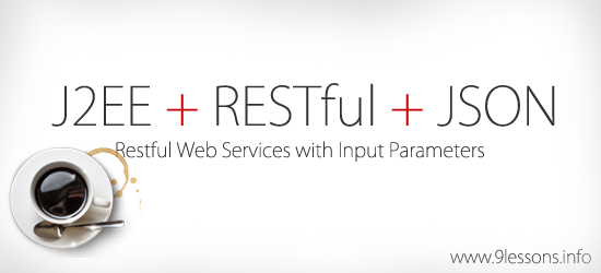 RESTful Web Services with input parameters