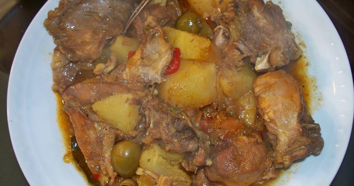 La cocina de sandra fricasse de conejo for Cocinar un conejo