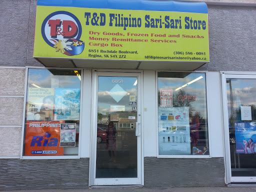 T&D Filipino Sari-Sari Store, 6851 Rochdale Blvd, Regina, SK S4X 2Z2, Canada, Grocery Store, state Saskatchewan