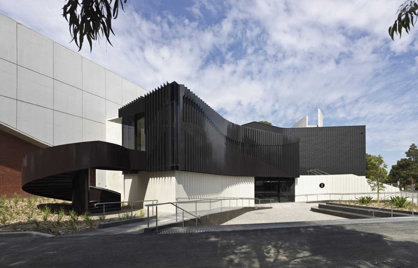 Melbourne Victoria, Australia: Deakin University Building I by Woods Bagot