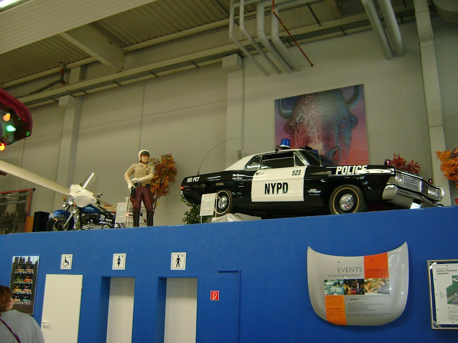 NYPD in Sinsheim