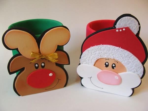 Papai Noel e rena de EVA