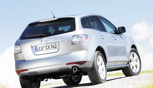 Mazda Calling Back CX-7 SUV Suspension Issue for Model Years 2007 to 2012