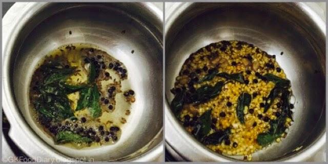 Millet Pongal Recipe (Varagu Pongal / Kodo Millet Kara Pongal) 3