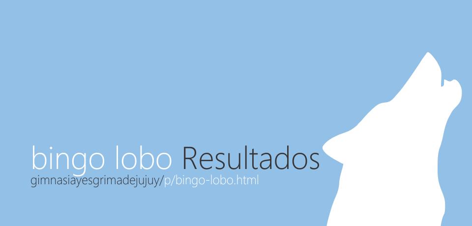 Bingo Lobo de Gimnasia y Esgrima de Jujuy