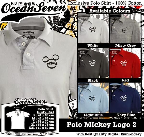 POLO Mickey Mouse 2 Logo distro ocean seven