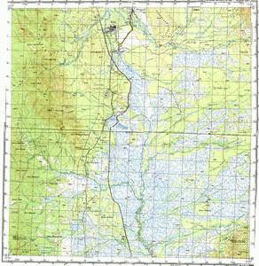 Map 100k--m54-058--(1982)