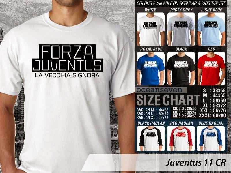 Kaos Bola Juventus 11 Lega Calcio distro