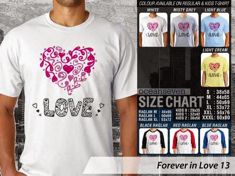 KAOS Couple Love |KAOS Forever in Love 13 distro ocean seven