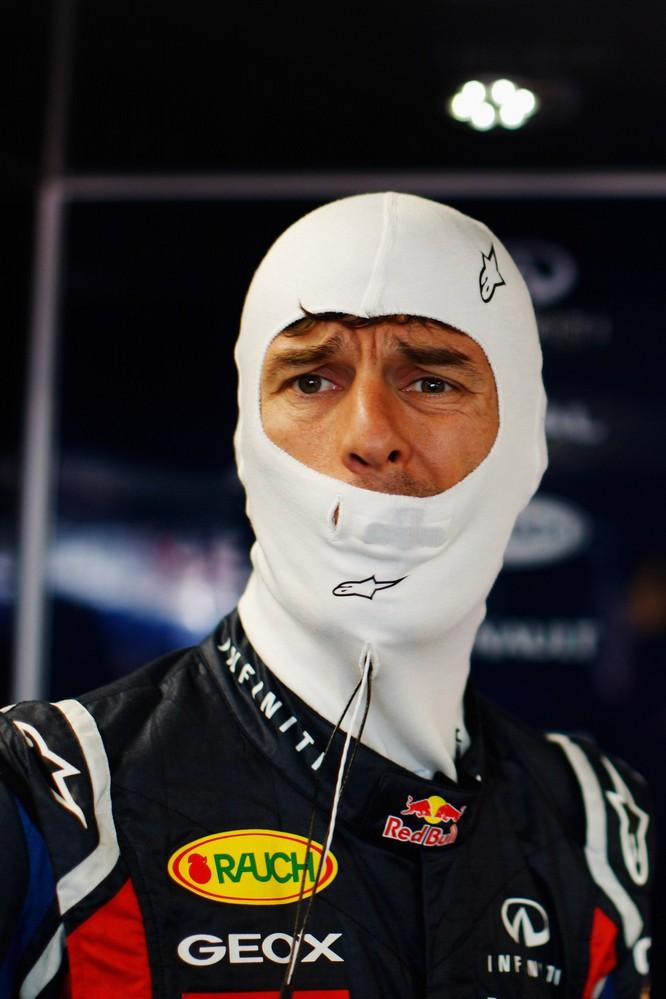 Марк Уэббер готовится к свободным заездам на Гран-при Канады 2011