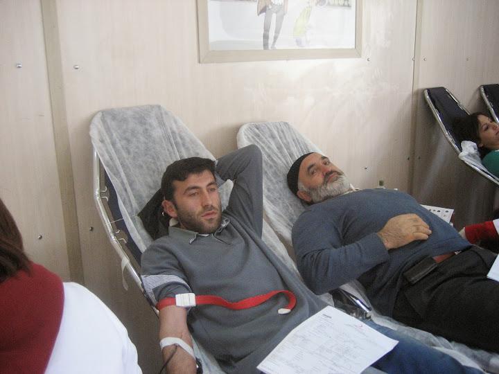 Kumruda 2014 Yılının İlk Kan Bağışı Çok Verimli Geçti