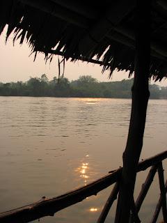 Evening On My Raft Hut