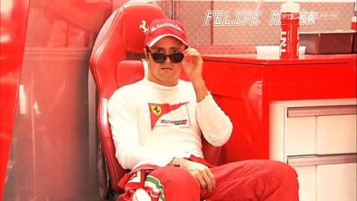 Фелипе Масса снимает очки на Гран-при Бахрейна 2013