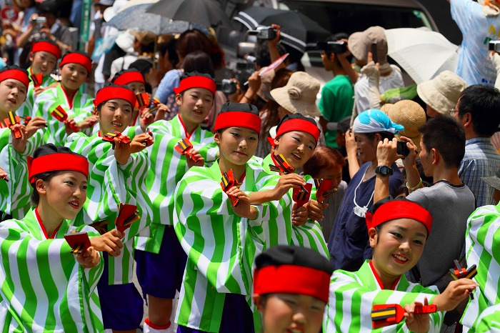第59回よさこい祭り☆本祭1日目・上町競演場101☆上1目914