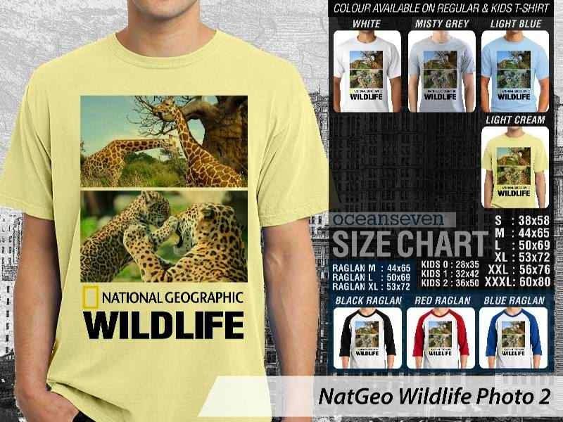 Kaos National Geographic NatGeo Wildlife Photo 2 distro ocean seven