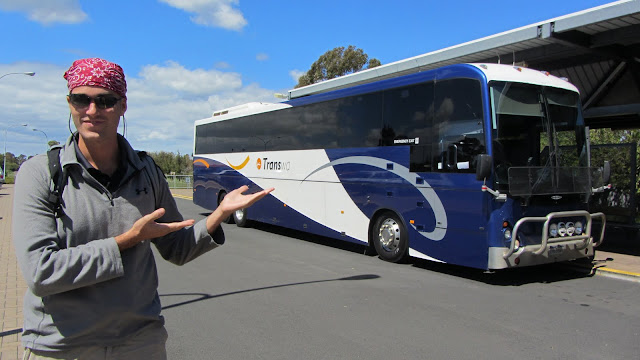 Travel around Western Australia can be challenging without your own car. We depended upon TransWA buses.