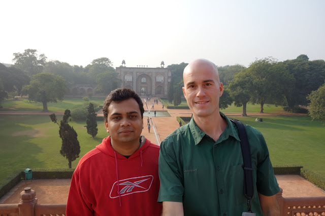 I was very lucky to meet Vikas on my first day in Delhi. He was on a business trip from Kolkota and taking a few hours to see the sights in India's capital.