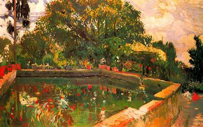 Joaquim Mir - L´Estany (El estanque)