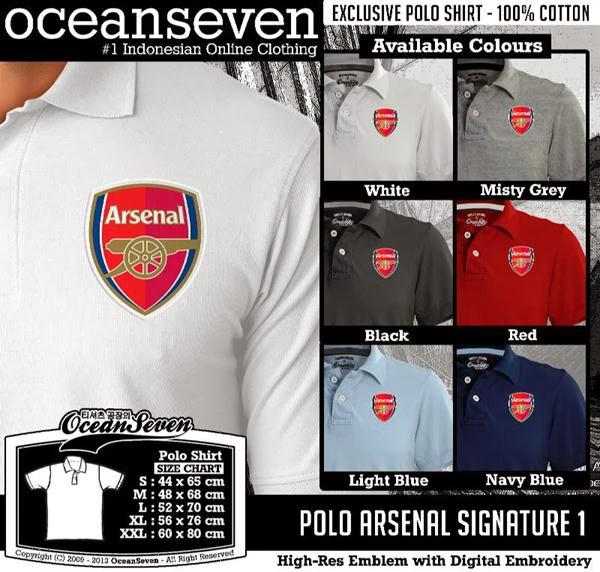 POLO Arsenal Signature distro ocean seven