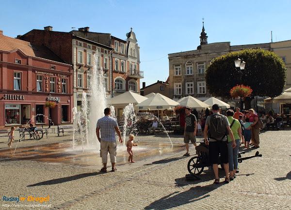 Fontanna na rynku - Kościerzyna