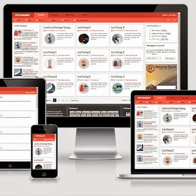 PERTAMAX!! - Responsive HTML5 Blogger Template