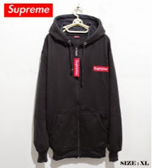 jaket supreme black