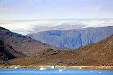 First View of the Polar Ice Cap -- Scenic Greenland