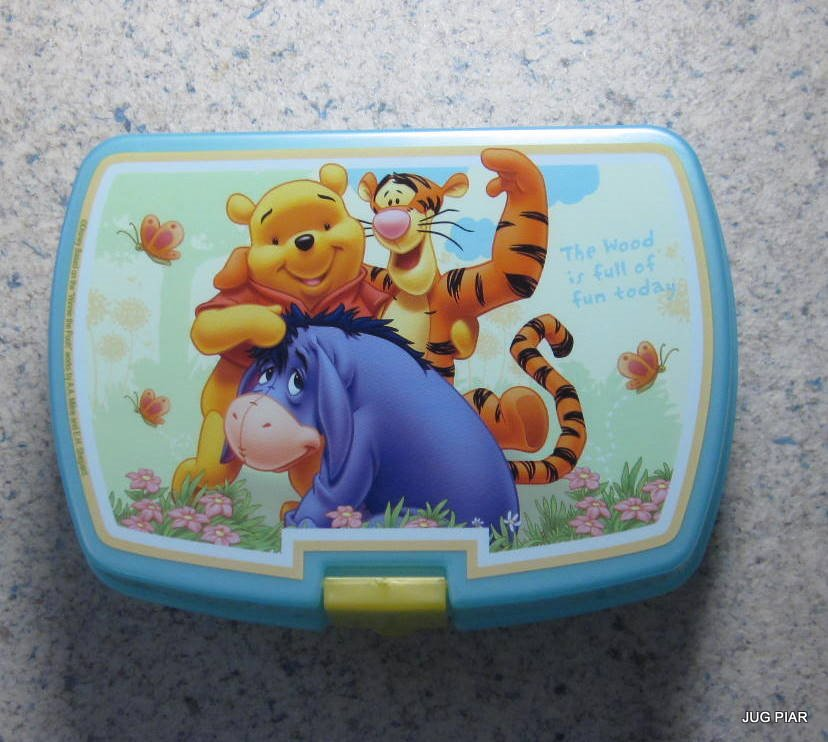 disney lunchbox brotdose kinder kunststoff ideal f r schule kindergarten ausfl g ebay. Black Bedroom Furniture Sets. Home Design Ideas