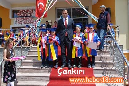Kadıoğlu Anaokulu Minik Öğrencilerinin Sergi ve Mezuniyet