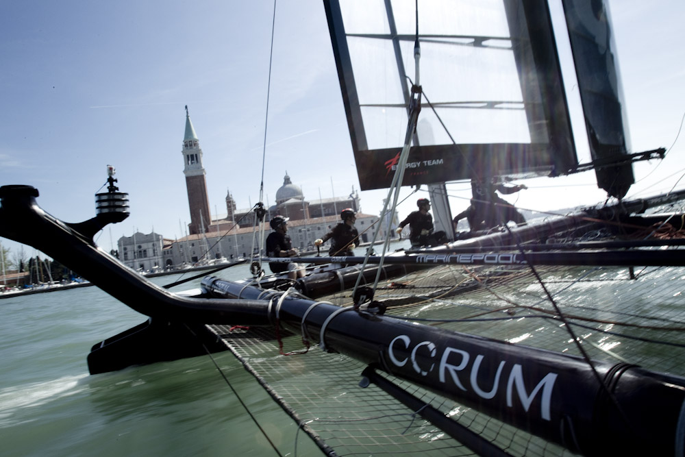 Introducing Arnaud Psarofaghi at America's Cup in Venice [men's fashion]