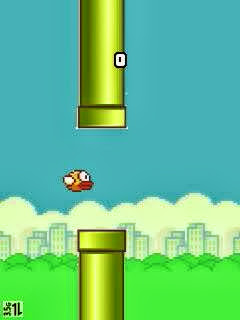 Image of Flappy Bird for JAVA 240x320 and 320x240 Resolution