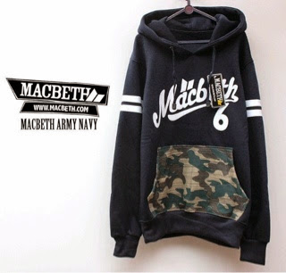 Jaket Macbeth 04 Navy Kantung Army