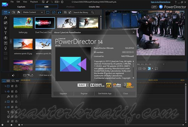 Cyberlink Powerdirector 14 Ultimate Full Version