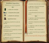 Distillato Soporifero - Istruzioni