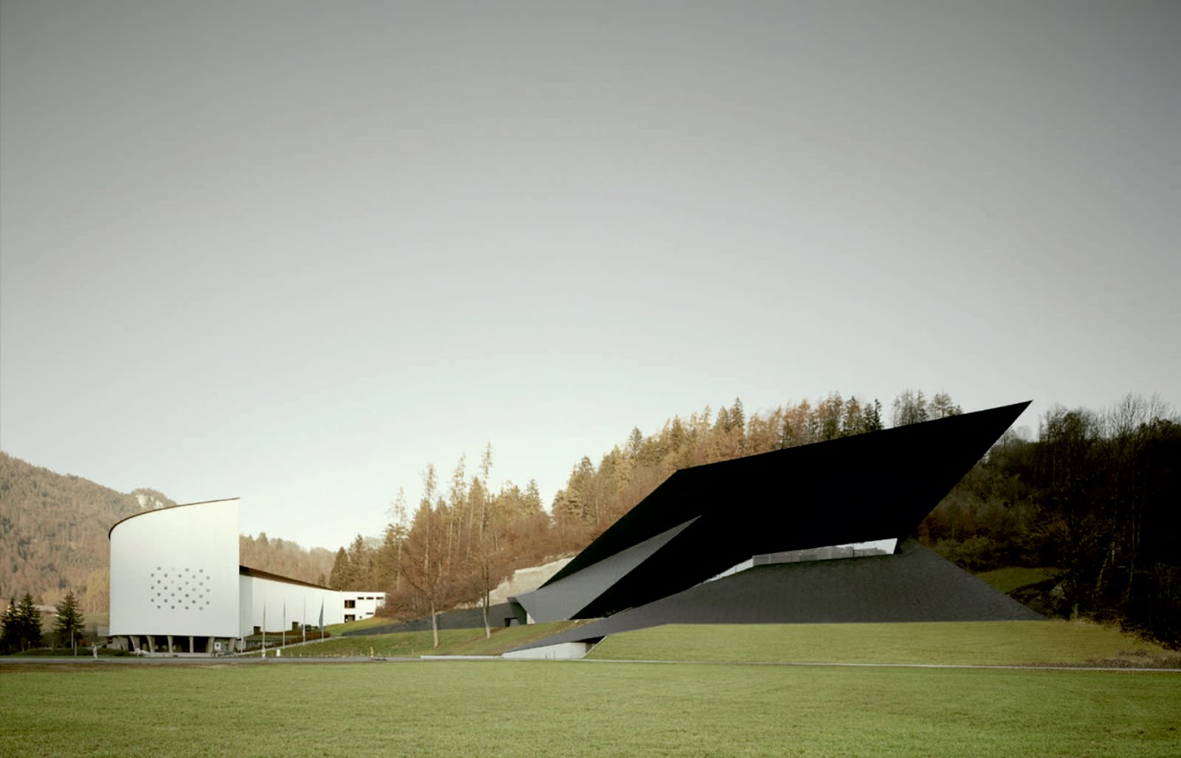 Cultural Center: FESTIVAL HALL of the TIROLER by DELUGAN MEISSL